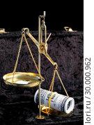 Купить «The balance between drugs and money», фото № 30000962, снято 10 мая 2012 г. (c) Wavebreak Media / Фотобанк Лори