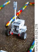 Купить «Little robot in the maze», фото № 30029278, снято 19 февраля 2019 г. (c) Евгений Харитонов / Фотобанк Лори