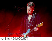 Купить «Depeche Mode Performing at Manchester Arena Featuring: Depeche Mode, Martin Gore Where: Manchester, United Kingdom When: 17 Nov 2017 Credit: Sakura/WENN.com», фото № 30056874, снято 17 ноября 2017 г. (c) age Fotostock / Фотобанк Лори