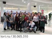 Купить «День православной молодежи в Одинцово», эксклюзивное фото № 30065310, снято 19 февраля 2019 г. (c) Дмитрий Неумоин / Фотобанк Лори