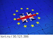Composite image of great britain national flag. Стоковое фото, агентство Wavebreak Media / Фотобанк Лори