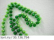Купить «St Patricks Day close-up of beads», фото № 30136794, снято 11 января 2017 г. (c) Wavebreak Media / Фотобанк Лори