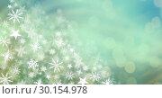 Snowflakes and lights. Стоковое фото, агентство Wavebreak Media / Фотобанк Лори
