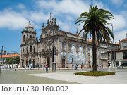 Купить «Porto, Portugal, view of the two churches Carmo and Carmelitas », фото № 30160002, снято 15 июня 2018 г. (c) Caro Photoagency / Фотобанк Лори