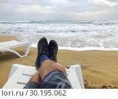 On the Golden Beach. North Cyprus, Karpass Peninsula. Стоковое фото, фотограф Andre Maslennikov / age Fotostock / Фотобанк Лори