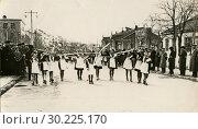 Купить «Демонстрация на Первое мая в СССР», фото № 30225170, снято 15 октября 2019 г. (c) Retro / Фотобанк Лори