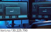Купить «hacking of computer system by virus cyber attack», видеоролик № 30225790, снято 27 февраля 2019 г. (c) Syda Productions / Фотобанк Лори