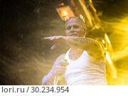 Купить «Выступление The Prodigy на фестивале Tuborg Greenfest», эксклюзивное фото № 30234954, снято 29 июня 2014 г. (c) Ольга Визави / Фотобанк Лори