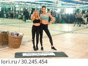 Alessandra Ambrosio models fitness wear for 'Train Like A Victoria... (2017 год). Редакционное фото, фотограф Ivan Nikolov / WENN.com / age Fotostock / Фотобанк Лори