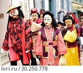 Купить «Switzerland Basel Carnival», фото № 30250778, снято 7 августа 2020 г. (c) age Fotostock / Фотобанк Лори
