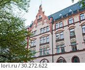 Купить «Красивая архитектура Хельсинки. Финляндия», фото № 30272622, снято 20 сентября 2018 г. (c) E. O. / Фотобанк Лори