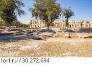Купить «Archaeological excavations in Bukhara», фото № 30272694, снято 19 октября 2016 г. (c) Юлия Бабкина / Фотобанк Лори