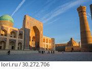 Купить «Mir-i Arab Madrassah in Bukhara», фото № 30272706, снято 19 октября 2016 г. (c) Юлия Бабкина / Фотобанк Лори