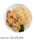Купить «Thai Red Curry», фото № 30275878, снято 31 мая 2020 г. (c) Яков Филимонов / Фотобанк Лори