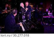 Купить «Suggs & Friends Pancreatic Charity at The Porchester Hall in London. Featuring: Jools Holland, Tony Christie, Suggs Where: London, United Kingdom When: 19 Oct 2017 Credit: WENN.com», фото № 30277018, снято 19 октября 2017 г. (c) age Fotostock / Фотобанк Лори