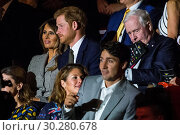 Купить «Royals and politicians attend the Invictus Games Opening Ceremony at Air Canada. Featuring: Melania Trump, Prince Harry, Sophie Grégoire Trudeau, Justin...», фото № 30280678, снято 23 сентября 2017 г. (c) age Fotostock / Фотобанк Лори