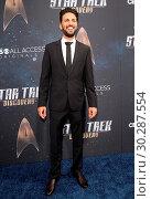 'Star Trek: Discovery' Premiere held at the ArcLight Cinerama Dome... (2017 год). Редакционное фото, фотограф Adriana M. Barraza / WENN.com / age Fotostock / Фотобанк Лори