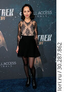 Premiere of CBS's 'Star Trek: Discovery' at The Cinerama Dome - Arrivals (2017 год). Редакционное фото, фотограф Guillermo Proano / WENN.com / age Fotostock / Фотобанк Лори
