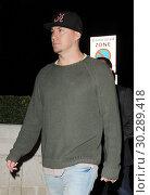 Купить «Channing Tatum heads to the Marble Arch Theatre to watch 'Five Guys Named Moe' Featuring: Channing Tatum Where: London, United Kingdom When: 19 Sep 2017 Credit: WENN.com», фото № 30289418, снято 19 сентября 2017 г. (c) age Fotostock / Фотобанк Лори
