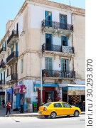 Купить «Малоэтажные жилые дома на центральных улицах Сусса. Тунис, Африка», фото № 30293870, снято 6 мая 2012 г. (c) Кекяляйнен Андрей / Фотобанк Лори