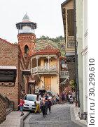 Купить «Tbilisi, Juma mosque», фото № 30299610, снято 23 сентября 2018 г. (c) Юлия Бабкина / Фотобанк Лори