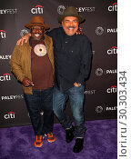 Купить «Celebrities attend PaleyFest Fall 'Comedy Get Down' Arrivals at The Paley Center For Media in Beverly Hills. Featuring: Cedric The Entertainer, George...», фото № 30303434, снято 15 сентября 2017 г. (c) age Fotostock / Фотобанк Лори