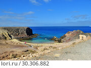 Купить «Papagayo Beach, Lanzarote, Canary Islands, Spain», фото № 30306882, снято 24 июня 2008 г. (c) Знаменский Олег / Фотобанк Лори