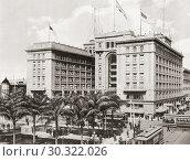 Купить «The U. S. Grant Hotel, San Diego, California, United States of America, c. 1915. Built by Ulysses S. Grant, Jr. , son of president Ulysses S. Grant, who...», фото № 30322026, снято 6 декабря 2019 г. (c) age Fotostock / Фотобанк Лори
