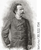 Купить «Francesco (Franco) Antonio Faccio, 1840 - 1891. Italian composer and conductor. From La Ilustracion Artistica, published 1887.», фото № 30322154, снято 22 октября 2019 г. (c) age Fotostock / Фотобанк Лори