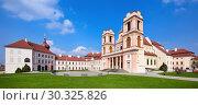 Купить «Бенедиктинский монастырь Гёттвайг (Stift Göttweig) близ города Кремз. Нижняя Австрия.», фото № 30325826, снято 3 апреля 2017 г. (c) Bala-Kate / Фотобанк Лори