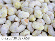 Купить «Roasted kernels of nuts», фото № 30327658, снято 9 марта 2019 г. (c) Владимир Белобаба / Фотобанк Лори
