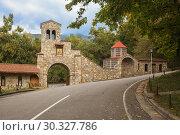Купить «Nekresi Monastery, Georgia», фото № 30327786, снято 1 октября 2018 г. (c) Юлия Бабкина / Фотобанк Лори