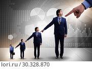 Купить «Businessmen blaming each other for failures», фото № 30328870, снято 18 июля 2019 г. (c) Elnur / Фотобанк Лори