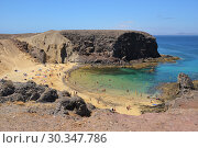 Купить «Papagayo Beach, Lanzarote, Canary Islands, Spain», фото № 30347786, снято 24 июня 2008 г. (c) Знаменский Олег / Фотобанк Лори