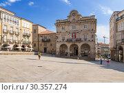 Купить «Оренсе, Испания. Здание мэрии», фото № 30357274, снято 13 июня 2017 г. (c) Rokhin Valery / Фотобанк Лори