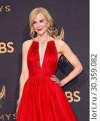 Купить «69th Emmy Awards held at the Microsoft Theatre L.A. LIVE - Arrivals Featuring: Nicole Kidman Where: Los Angeles, California, United States When: 17 Sep 2017 Credit: Adriana M. Barraza/WENN.com», фото № 30359082, снято 17 сентября 2017 г. (c) age Fotostock / Фотобанк Лори