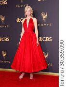 Купить «69th Emmy Awards held at the Microsoft Theatre L.A. LIVE - Arrivals Featuring: Nicole Kidman Where: Los Angeles, California, United States When: 17 Sep 2017 Credit: Adriana M. Barraza/WENN.com», фото № 30359090, снято 17 сентября 2017 г. (c) age Fotostock / Фотобанк Лори