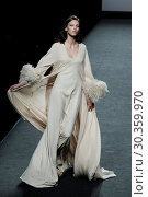 Купить «Mercedes-Benz Madrid Fashion Week Spring/Summer 2018 - Marcos Luengo - Catwalk Featuring: Model Where: Madrid, Spain When: 17 Sep 2017 Credit: Oscar Gonzalez/WENN.com», фото № 30359970, снято 17 сентября 2017 г. (c) age Fotostock / Фотобанк Лори