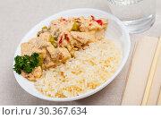 Купить «Thai Red Curry», фото № 30367634, снято 31 мая 2020 г. (c) Яков Филимонов / Фотобанк Лори