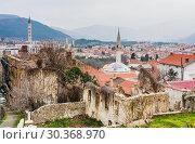 Mostar traditional house in old town, Bosnia and Herzegovina (2018 год). Стоковое фото, фотограф Николай Коржов / Фотобанк Лори