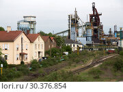 Купить «France, Lorraine, Hayange - Decommissioned steelworks in the structurally weak city, elected 2014 Front National politician mayor of Lorraine», фото № 30376854, снято 2 мая 2018 г. (c) Caro Photoagency / Фотобанк Лори