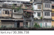 Купить «На задворках Бангкока. Таиланд», видеоролик № 30386738, снято 28 декабря 2018 г. (c) Виктор Карасев / Фотобанк Лори