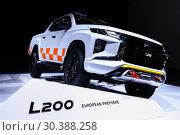 Купить «Mitsubishi L200», фото № 30388258, снято 10 марта 2019 г. (c) Art Konovalov / Фотобанк Лори