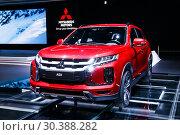 Купить «Mitsubishi ASX», фото № 30388282, снято 10 марта 2019 г. (c) Art Konovalov / Фотобанк Лори