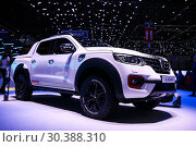 Купить «Renault Alaskan», фото № 30388310, снято 11 марта 2019 г. (c) Art Konovalov / Фотобанк Лори