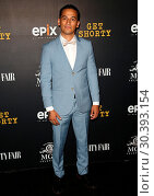 Red carpet premiere of EPIX Original Series 'Get Shorty' at Pacific... (2017 год). Редакционное фото, фотограф Brian To / WENN.com / age Fotostock / Фотобанк Лори