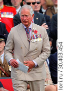 Купить «The Prince of Wales, accompanied by The Duke and Duchess of Cambridge, The King and Queen of the Belgians attend a memorial service at the Commonwealth...», фото № 30403454, снято 31 июля 2017 г. (c) age Fotostock / Фотобанк Лори
