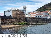 Форт святого Себастьяна в Орте, остров Фаял, Азоры (2019 год). Редакционное фото, фотограф Ирина Яровая / Фотобанк Лори