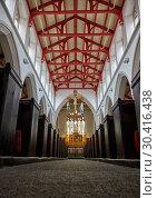 Купить «The interior of the nave of St Matthew's Church. Sheffield. South Yorkshire. England», фото № 30416438, снято 8 мая 2009 г. (c) Serg Zastavkin / Фотобанк Лори