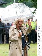 Купить «HRH The Prince of Wales and The Duchess of Cornwall visit the Sandringham Flower Show Featuring: HRH Camilla, Duchess of Cornwall Where: Sandringham, United Kingdom When: 26 Jul 2017 Credit: WENN.com», фото № 30421678, снято 26 июля 2017 г. (c) age Fotostock / Фотобанк Лори